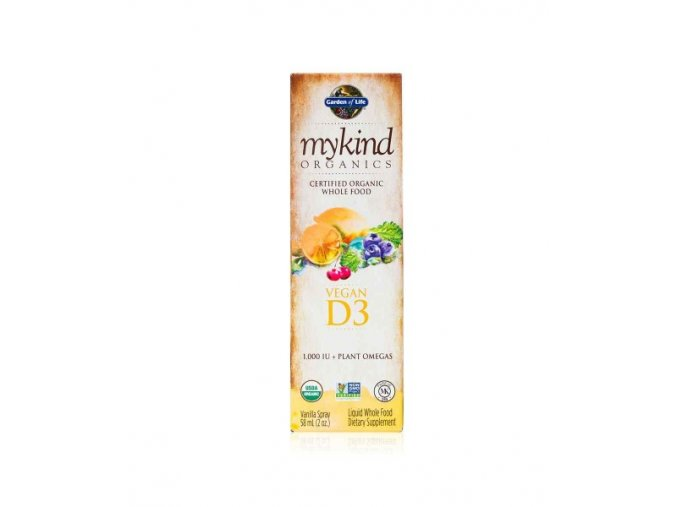 vitamin D3 sprej garden of life 57ml 1000IU