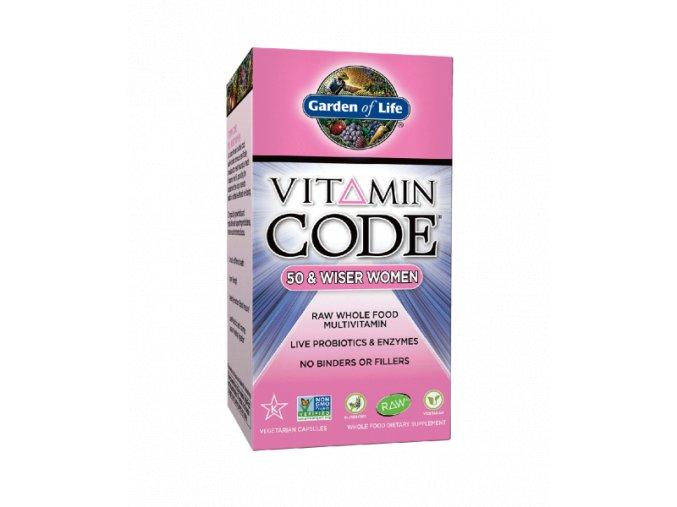 Vitamin Code 50+Women 500x600