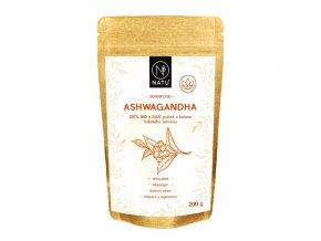 ashwagandha raw bio prasek natu 200g
