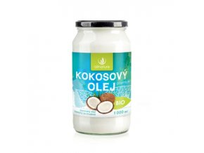 allnature kokosovy olej panensky bio 1000 ml