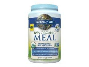 Raw organic meal vanilla 969g