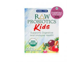 Raw probiotics kids organic garden of life 96g