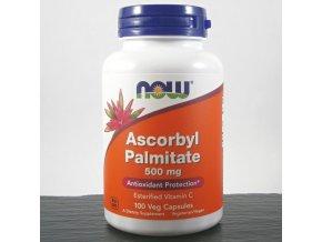now askorbylpalmitat s vitaminem c 500 mg x 100 rostlinnych kapsli