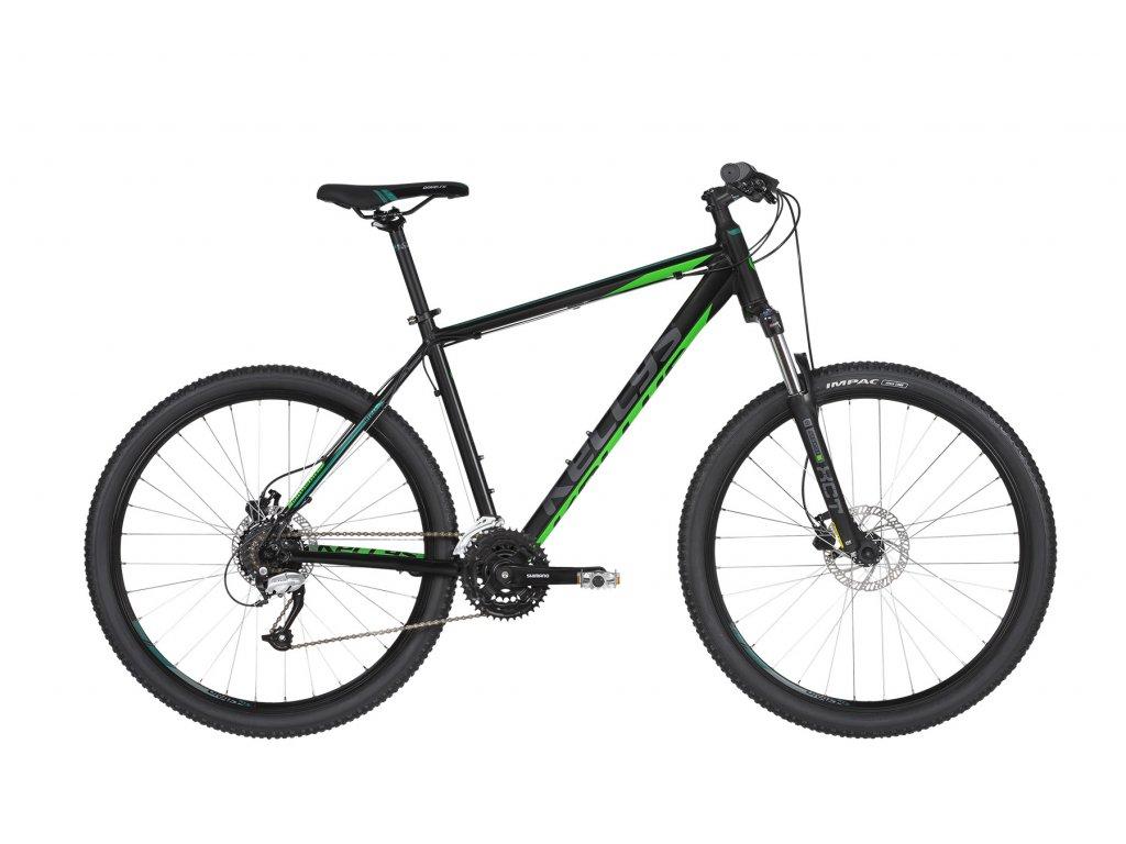 KELLYS Madman 50 Black Green 27.5 2019  Na skladové zásoby komponentů a doplňků slevy až 50%