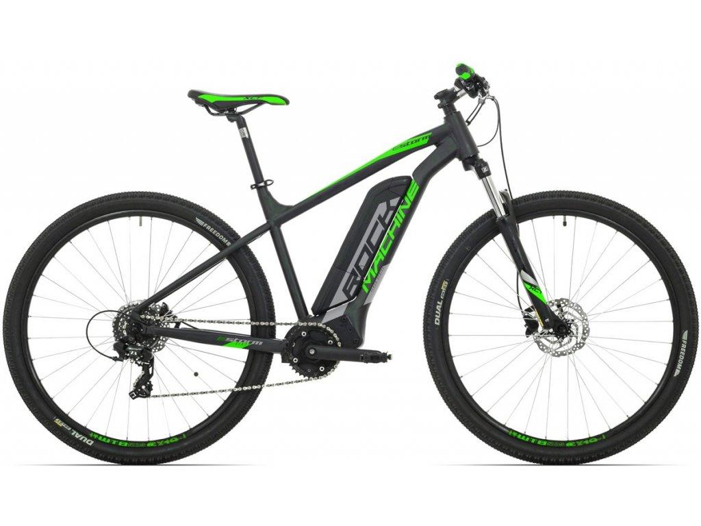 Rock Machine Storm e60-29  mat black/silver/neon green 2019  Pro registrované možnosti Bonusu