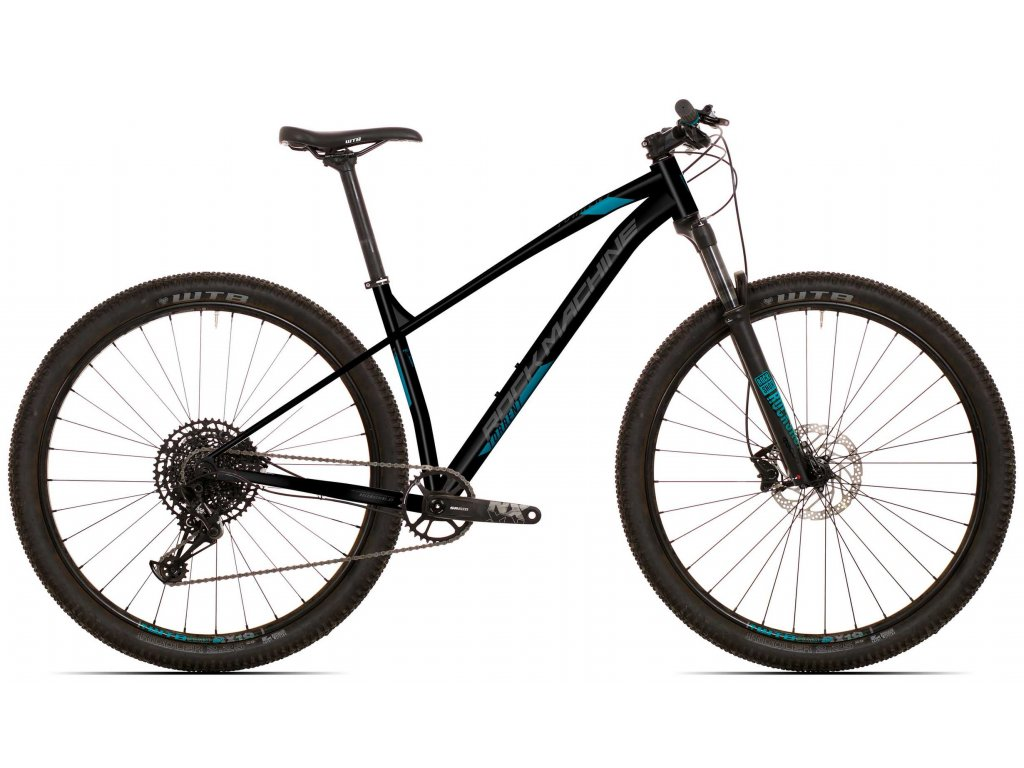 Rock Machine Torrent 30-29 Matt Black/Dark Grey/Petrol Blue 2021