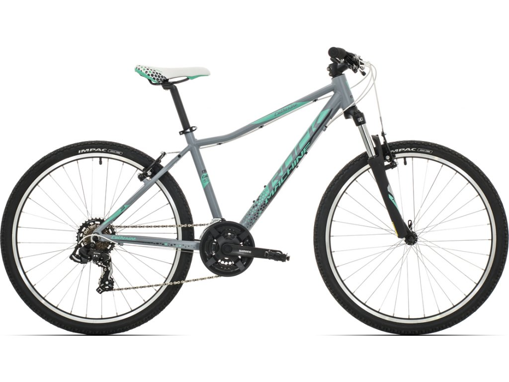 Rock Machine CATHERINE 26 MATTE GREY/MINT GREEN/DARK GREY 2019  Pro registrované možnosti Bonusu