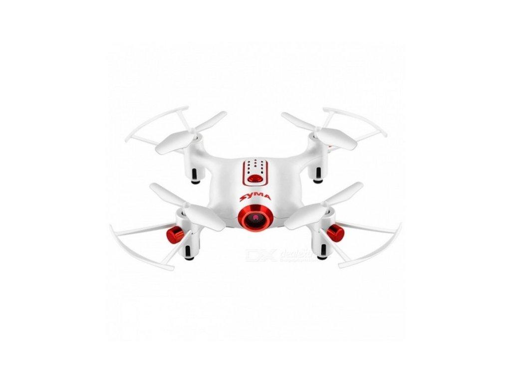 SYMA X20W dron s online přenosem - Bílý  Naše služby je možné platit systémem Sodexo, Up, Benefit a Benefit Plus