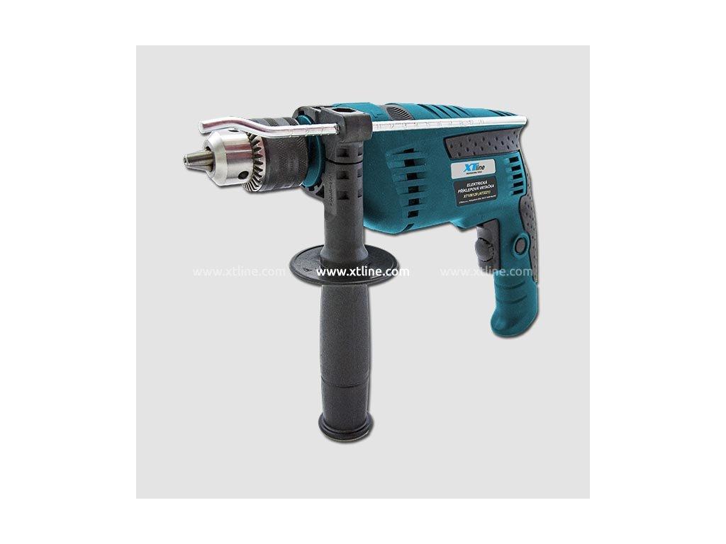 XTline Elektrická příklepová vrtačka 850W 13mm XT106120