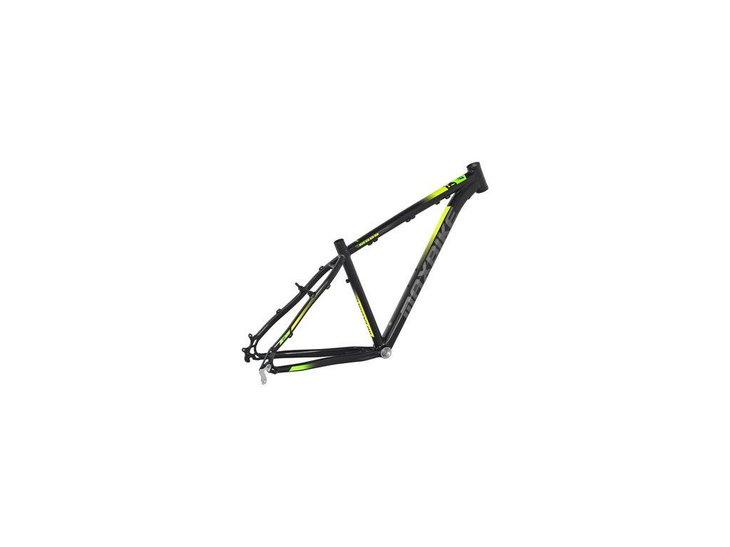 Maxbike Taupo 29 2019 černý matný + žlutá + zelená  Pro registrované možnost akce až 15% sleva