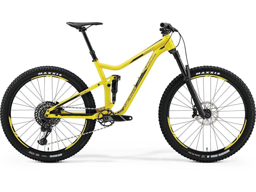 Merida ONE-FORTY 800 Yellow(Black) 2019