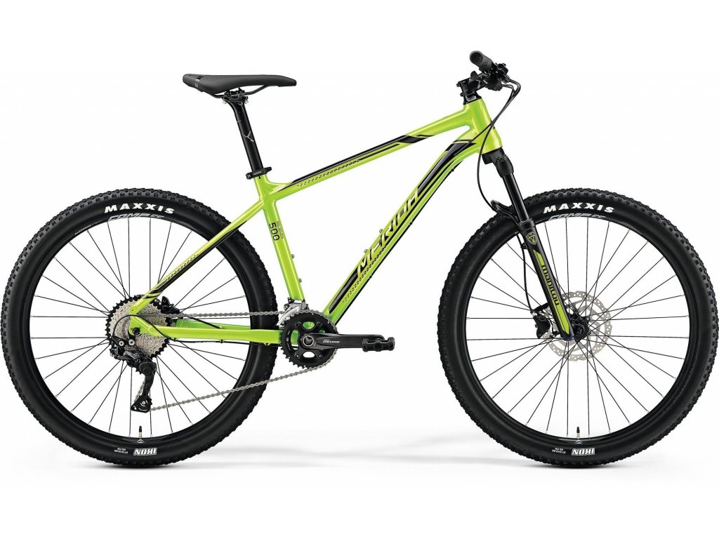 Merida BIG.SEVEN 500 Green(Black)  2019