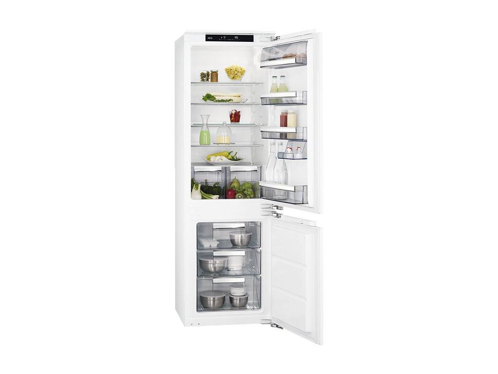 AEG SCE81811LC Vestavná chladnička kombinovaná  Naše služby je možné platit systémem Sodexo, Up, Benefit a Benefit Plus