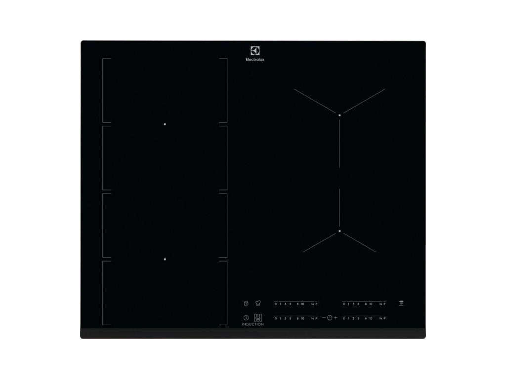 Electrolux EIV654 Varná deska indukční FlexiBridge 60 cm  Pro registrované zákazníky zajímavé bonusy, akce a to i na jiné značky naší nabídky modelů 2020