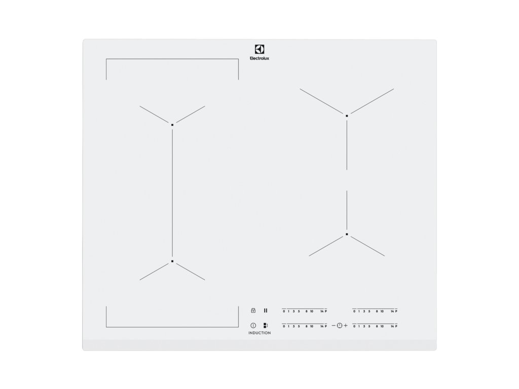Electrolux EIV63440BW Varná deska indukční  Pro registrované slevy a další výhody