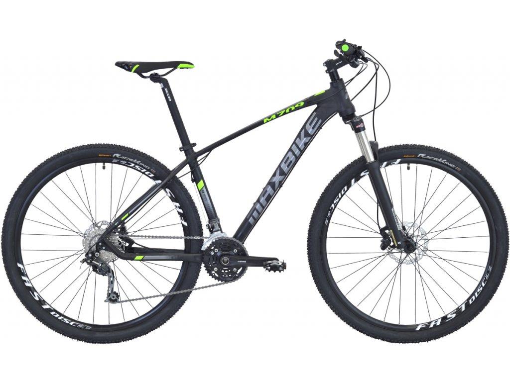 Maxbike Inari 29 2020 černý mat + zelená  Pro registrované zákazníky zajímavé bonusy, akce a to i na jiné značky naší nabídky modelů 2020
