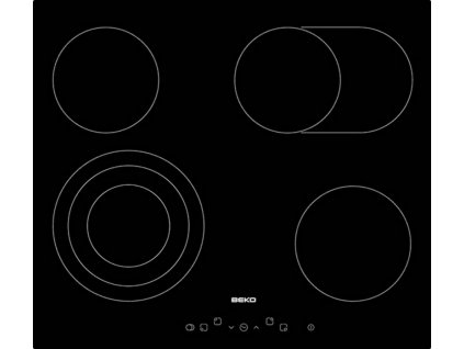Beko HIC64404T sklokeramická deska