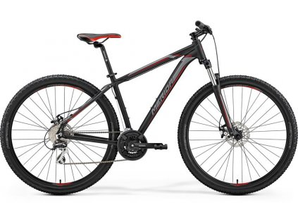 Merida BIG.NINE 20-D Matt Black(Red/Silver)  2019
