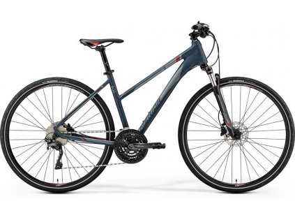 Merida CROSSWAY 600-LADY Matt Dark Grey(Red/Silver Grey) 2019