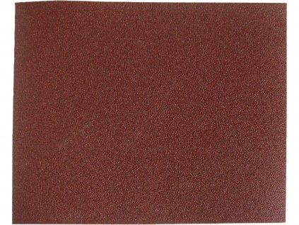plátna brusná archy, bal. 10ks, 230x280mm, P100