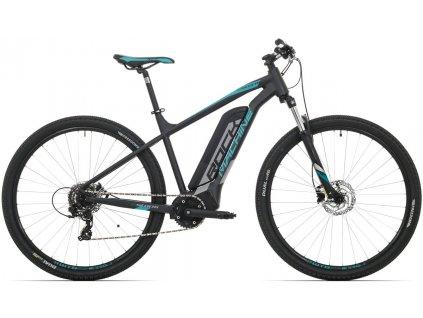 Rock Machine Storm e60-29  mat black/silver/petrol blue 2019  Pro registrované možnosti Bonusu