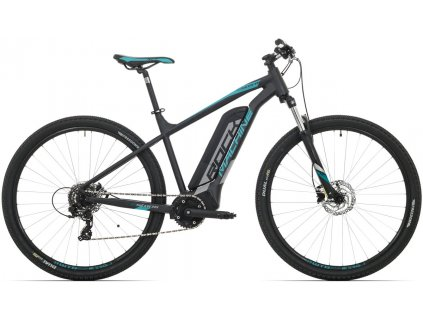 Rock Machine Storm e60-29 bat.504 Wh mat black/silver/petrol blue 2019