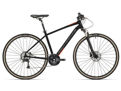 Rock Machine CrossRide 100 mat black/dark grey/brick red 2021