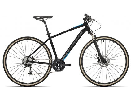 Rock Machine CrossRide 700 mat black/dark grey/petrol blue 2021