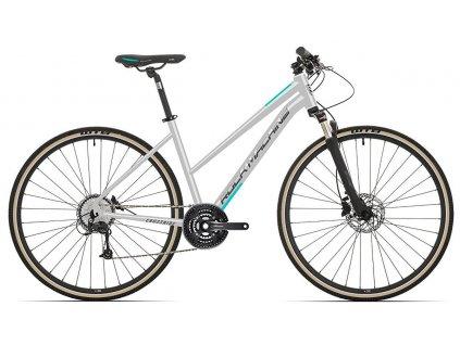 Rock Machine CrossRide 300 lady gloss light grey/dark grey/mint 2021
