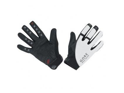 GORE Alp-X 2.0 Long Gloves-white/black-10