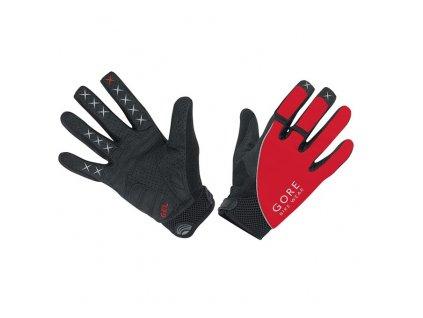 GORE Alp-X 2.0 Long Gloves-red/black-10