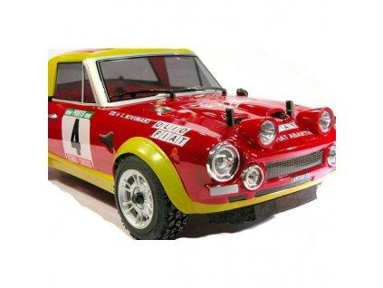 FIAT 124 ABARTH RALLY 1975, 1:10, 4WD, RTR, 2.4 GHZ  Naše služby je možné platit systémem Sodexo, Up, Benefit a Benefit Plus