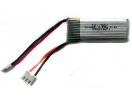 300mAh 7.4V LiPo Molex/Walkera - WL F959-010  Pro registrované slevy a další výhody