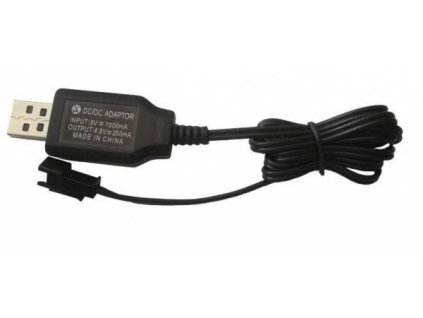 USB nabíječka 4.8V 250mA SM  Pro registrované slevy a další výhody