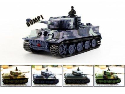 Mini RC tank Tiger 1/72  Naše služby je možné platit systémem Sodexo, Up, Benefit a Benefit Plus