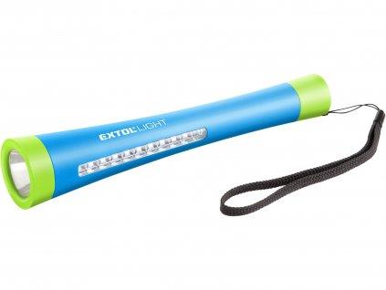 svítilna 1W+10 LED s magnetem