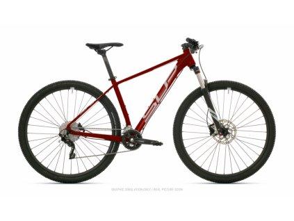SUPERIOR XC 879 2021 GLOSS DARK RED/CHROME SILVER