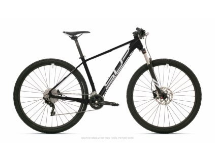 SUPERIOR XC 889 2021 MATTE BLACK/WHITE