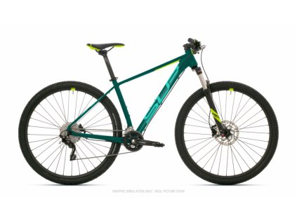 SUPERIOR XC 889 2021 GLOSS TURQUOISE/NEON YELLOW
