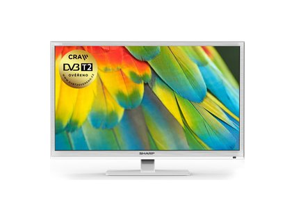 SHARP LC 24CHF4012EW 100Hz DVB-T2 H265