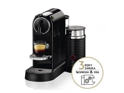 Espresso DeLonghi Nespresso CitiZ&Milk EN267.BAE černé