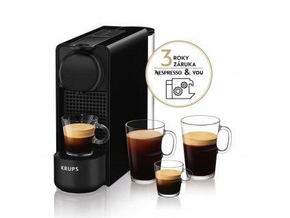 Espresso Krups Nespresso Essenza Plus XN510810 černé