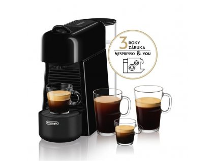 Espresso DeLonghi Nespresso Essenza Plus EN200.B černé