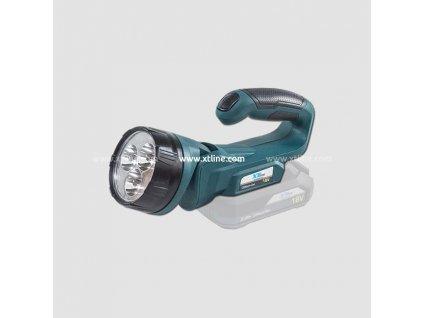 XTline Aku svítilna 18V, bez baterie XT102765