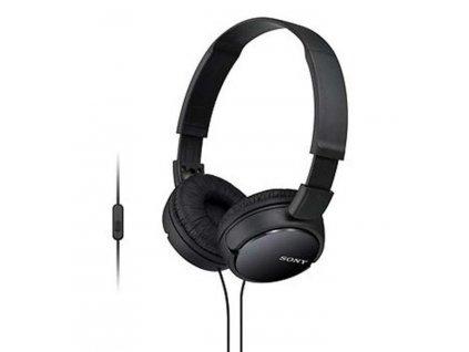 Sluchátka Sony MDRZX110APB.CE7 černá (MDRZX110APB.CE7)
