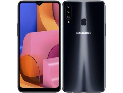 Mobilní telefon Samsung Galaxy A20s černý (SM-A207FZKDEUE)