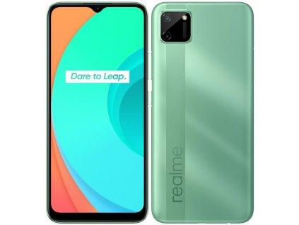 Mobilní telefon Realme C11 zelený (RMX2185GRE)