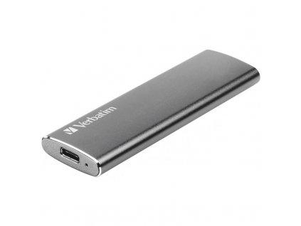 SSD externí Verbatim Vx500 120GB stříbrný (47441)