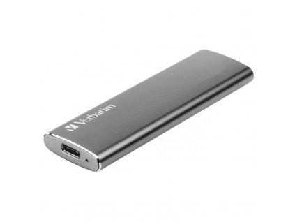 SSD externí Verbatim Vx500 240GB stříbrný (47442)