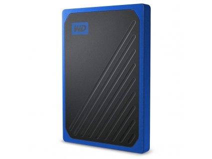 SSD externí Western Digital My Passport Go 500GB modrý (WDBMCG5000ABT-WESN)